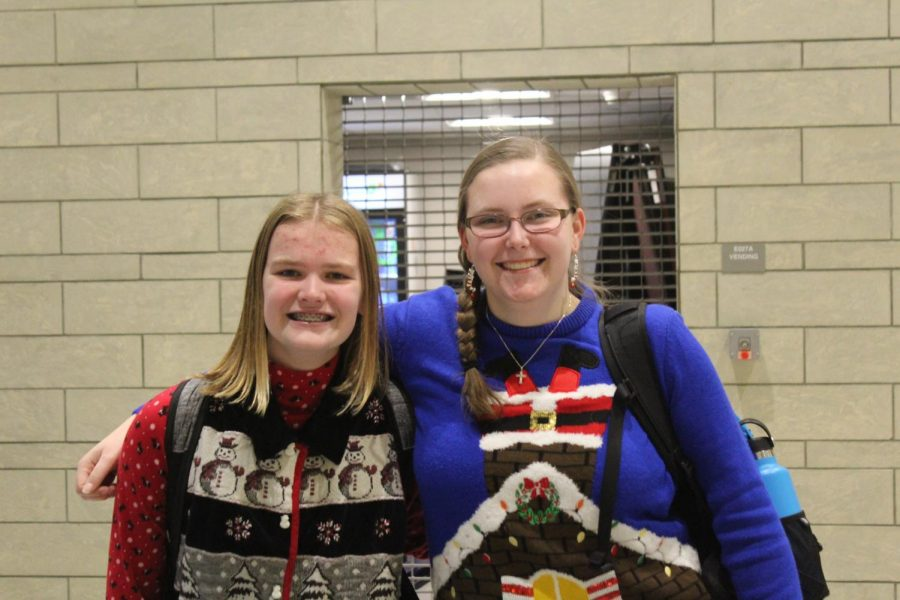 Spirit Day Five: Ugly Sweater Day