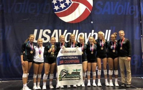 Rylee Fay and LeeAnn Potter Win National Championship for Volleyball
