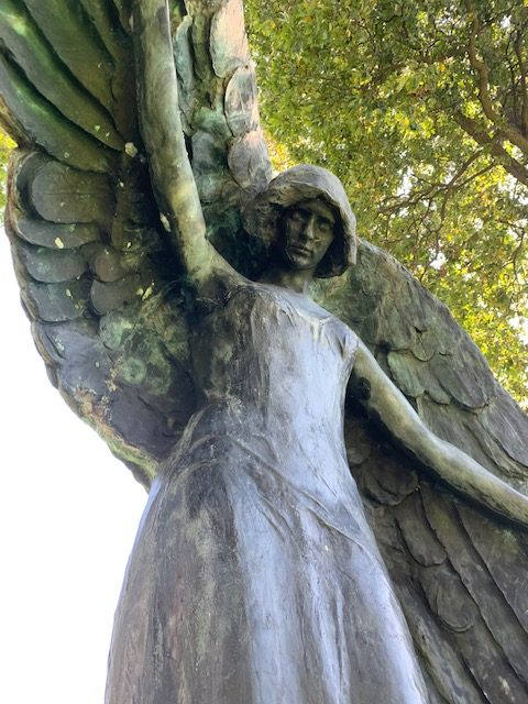 The+Black+Angel+is+one+of+Iowa%27s+most+famous+haunted+statues.