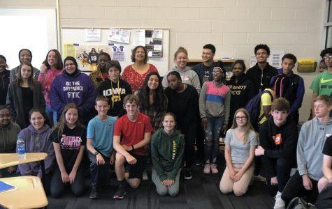 Venise Berry, Diversity Speaker, visits Liberty High