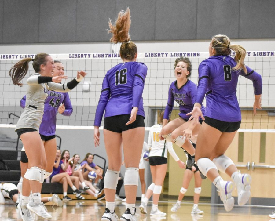 Liberty Volleyball Looks to Make First Run at a State Appearance