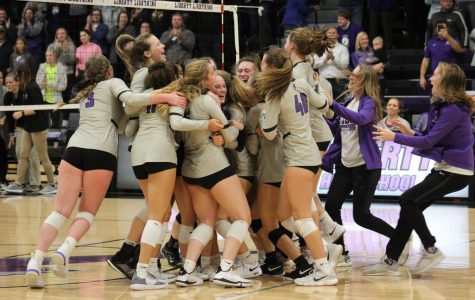 Lightning Strikes Again: Volleyball on to State