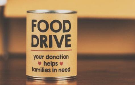 Food Drive by Student Senate