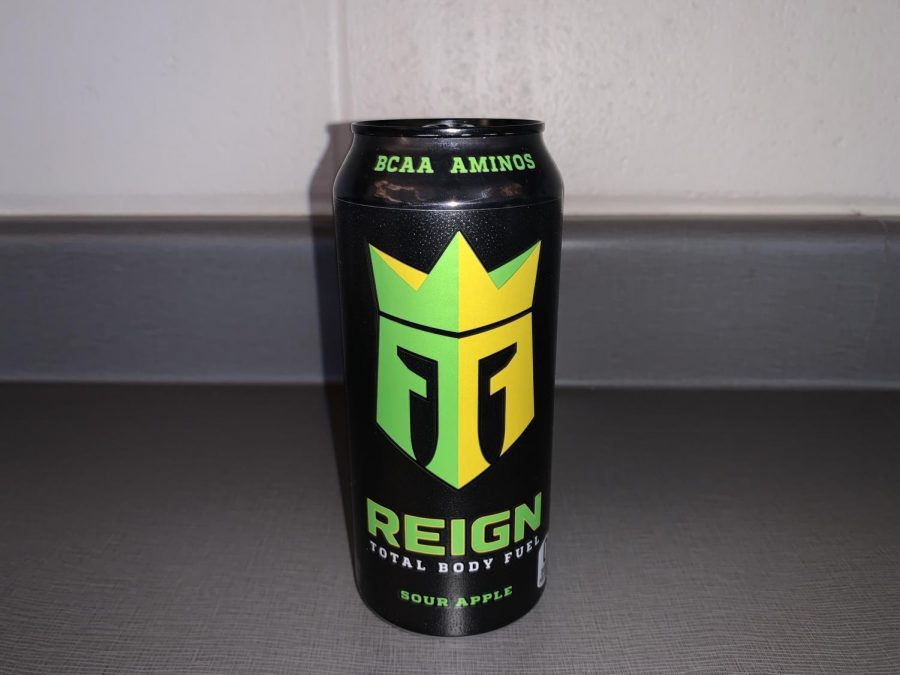 Max+Tafolla%27s%2C+junior%2C+preferred+energy+drink+is+Reign.+The+boys+on+the+newspaper+staff+collect+the+cans+and+display+them+in+the+journalism+room.