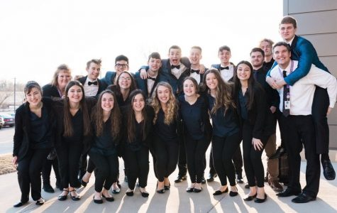 Voltage Jazz Choir Places First at Solon Invitational
