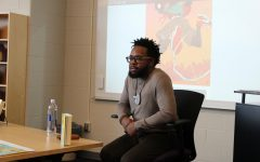 Author Justin A. Reynolds, Visits Liberty