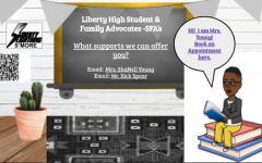 Students can set up appointments with ShaNell Young through the counseling page on Libertys website.