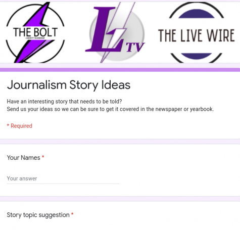 Live Wire Story Suggestions