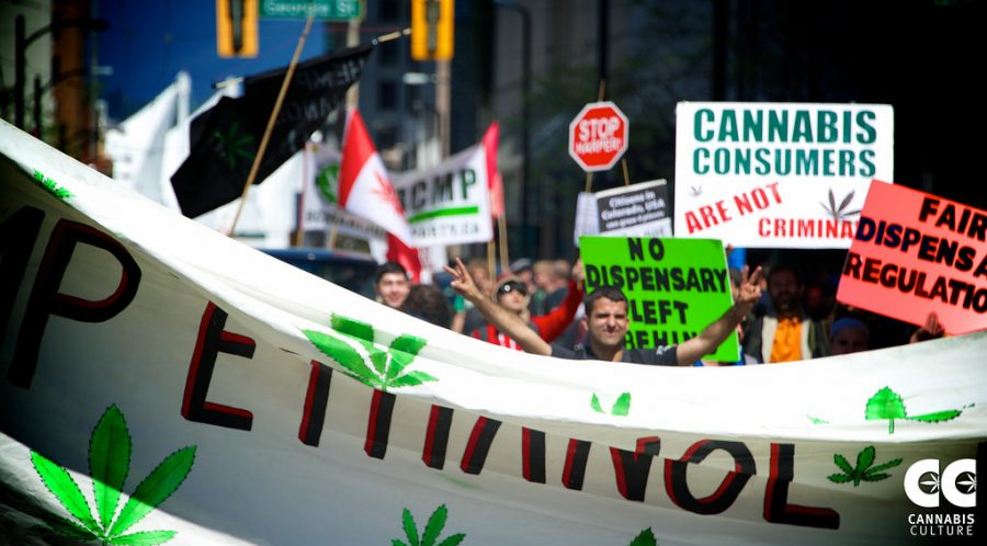 Vancouver Global Marijuana March 2015 - by Danny Kresnyak by Cannabis Culture is licensed with CC BY 2.0