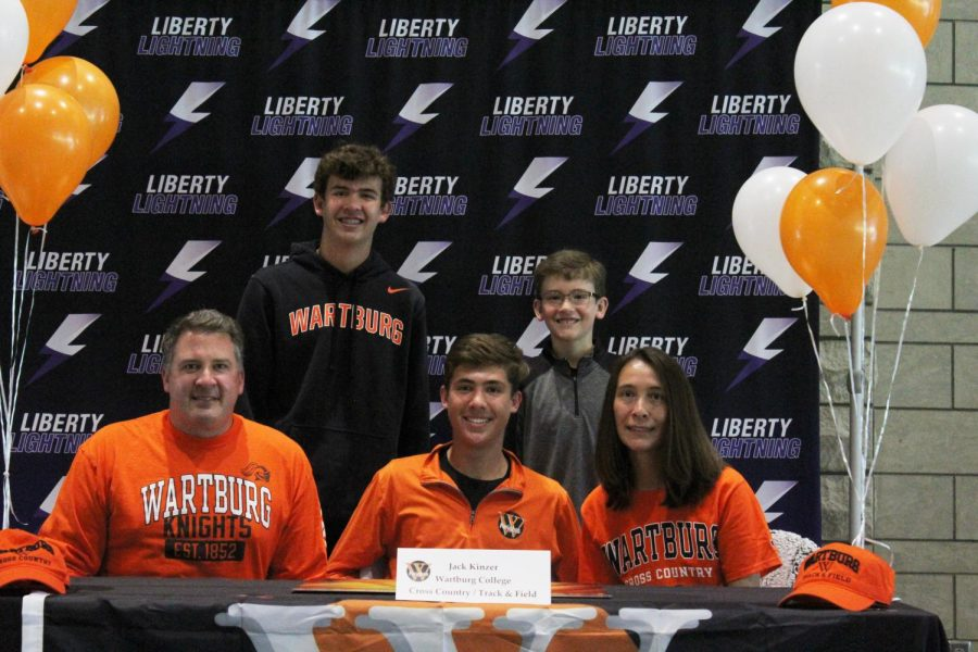 Jack Kinzer: Wartburg Track & Field and Cross Country