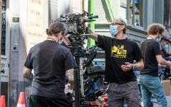 Film makers working despite the pandemic to ensure that film production continued.