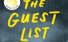 Photo Credit by HarperCollins Publishing.  The Guest List by Lucy Foley tells the story of an island wedding with a mysterious twist.